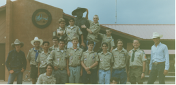 Troop 5 Scouts at Philmont Cavalcade 1990's